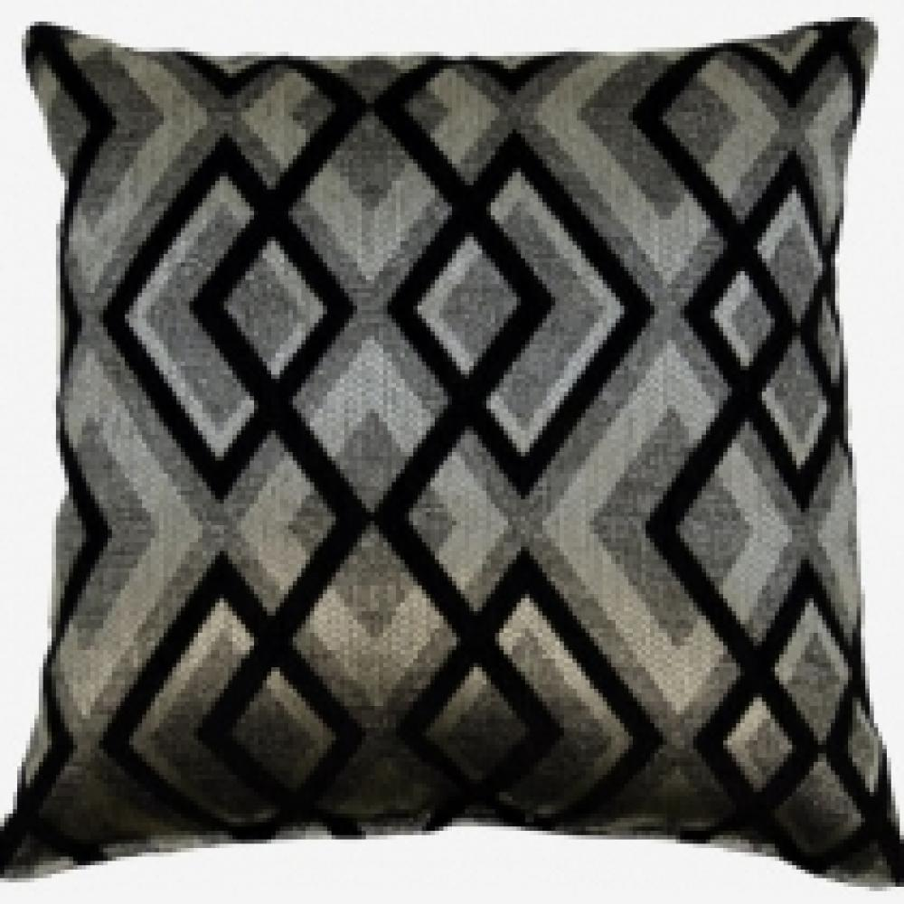 Imani Onyx Lumbar Pillow 12.5in x 19in