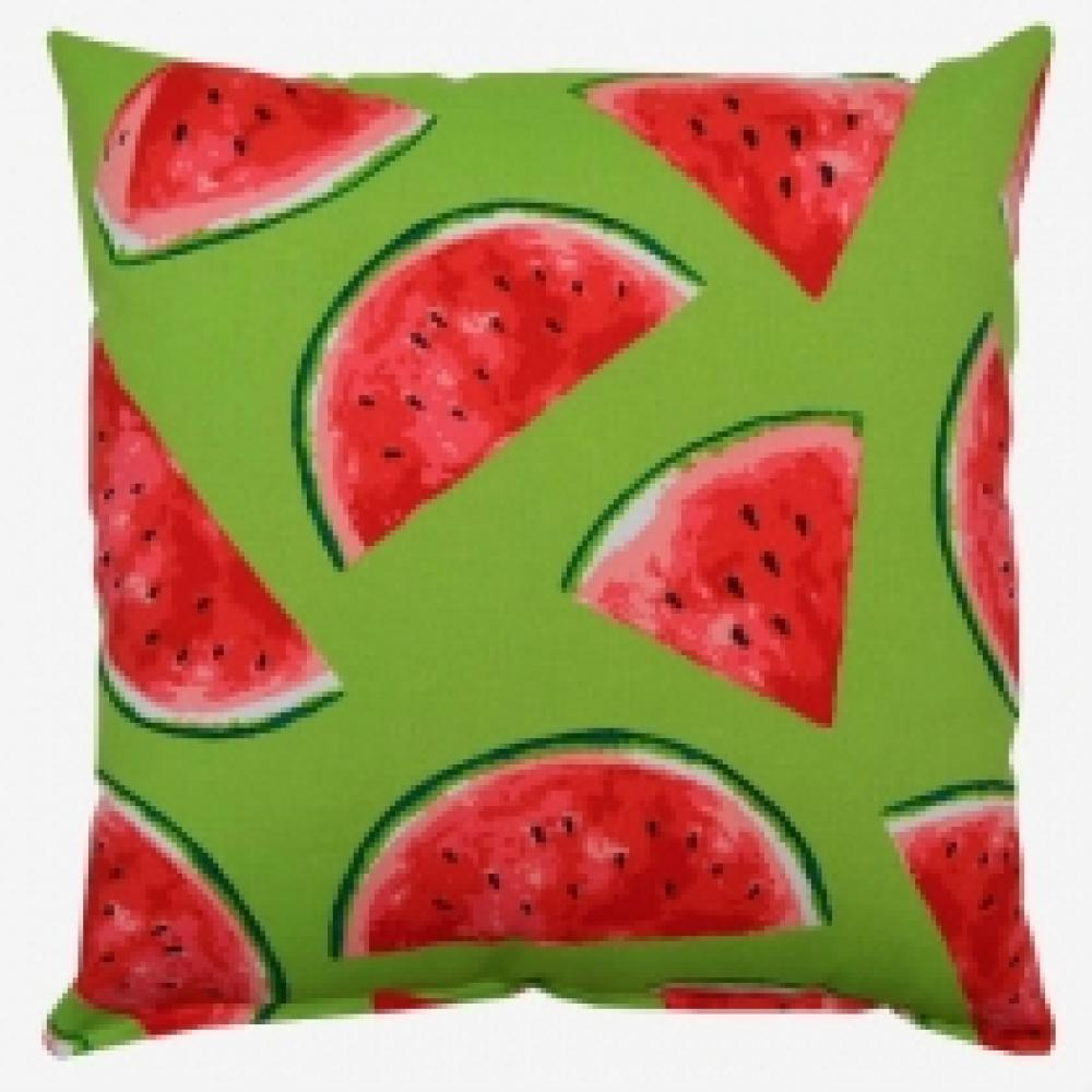 Melon Citrus Outdoor Pillow 17in x 17in