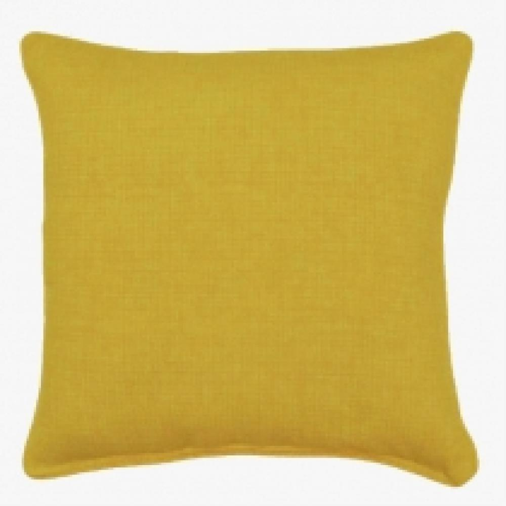 Bremlane Yellow Outdoor Pillow 17in x 17in