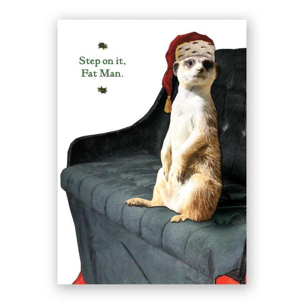 Christmas Card - Meerkat