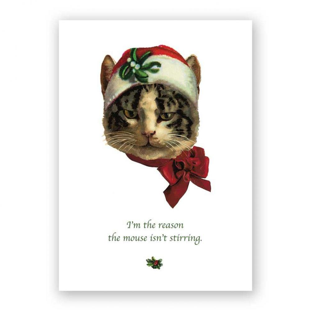 Christmas Card - Its a Cat