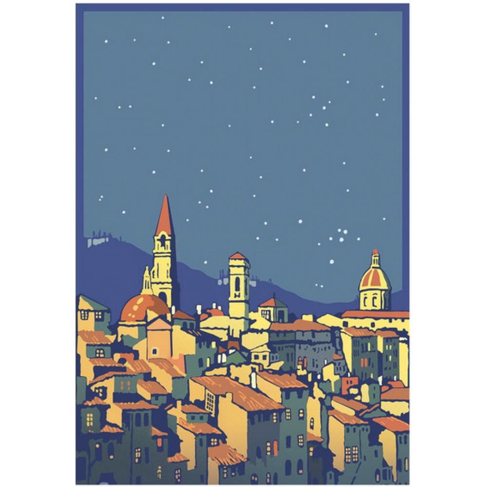 Boxed Card - Christmas - Peaceful City