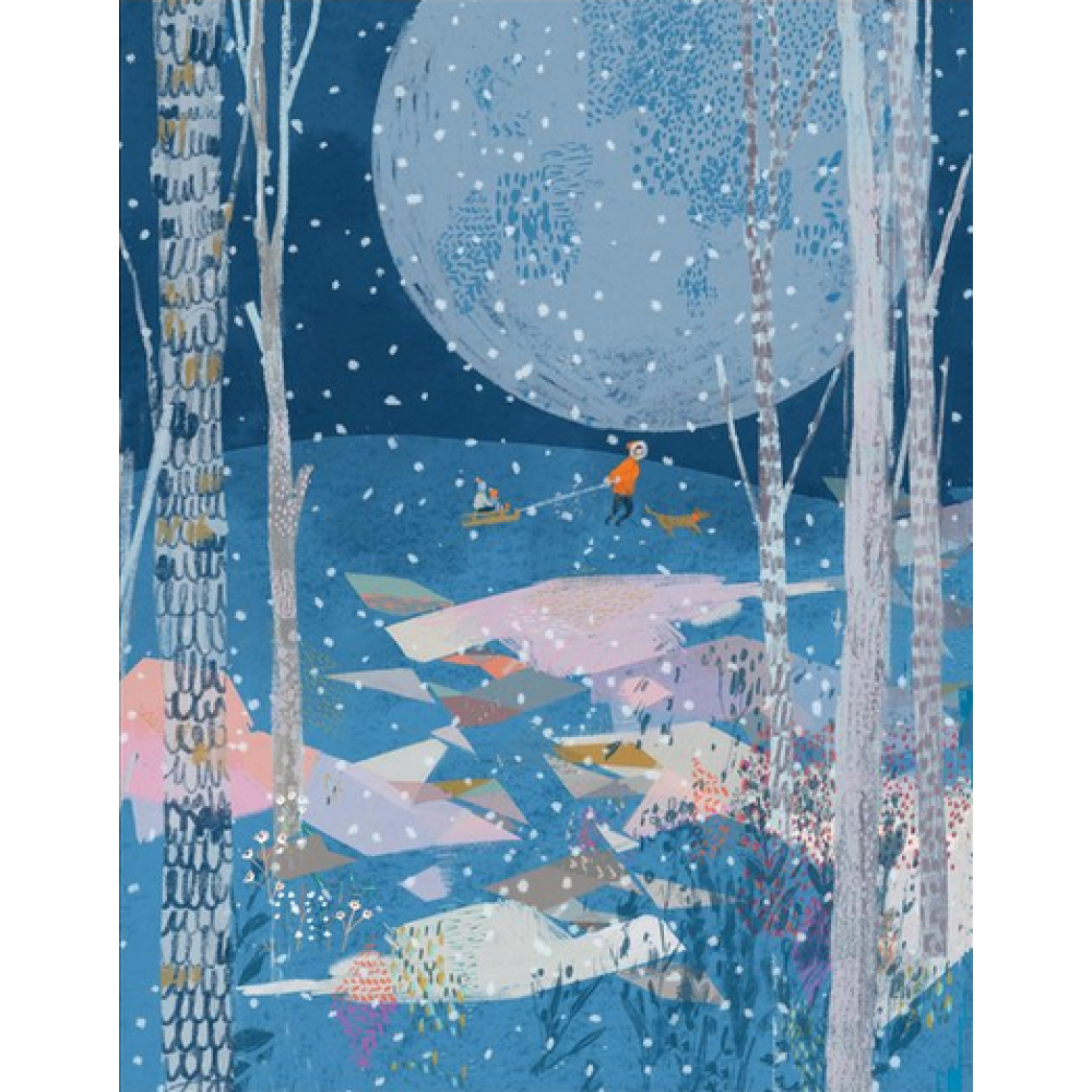 Boxed Card - Christmas - Winter Moon