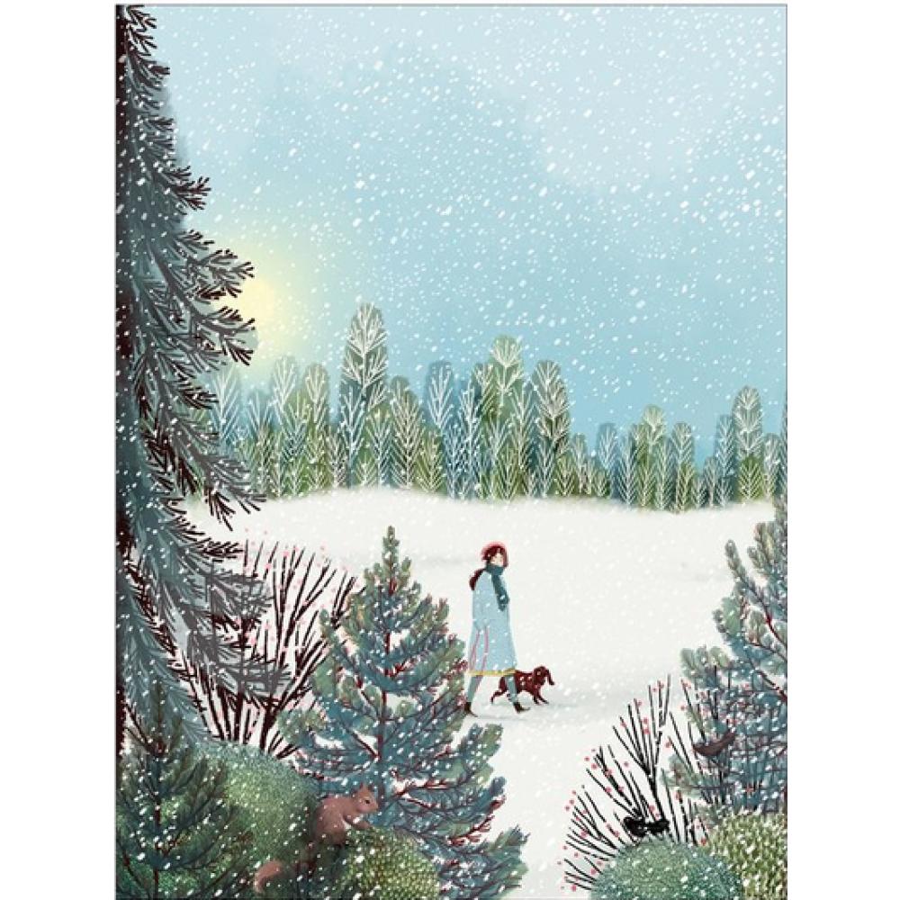 Boxed Card - Christmas - Winter Walk
