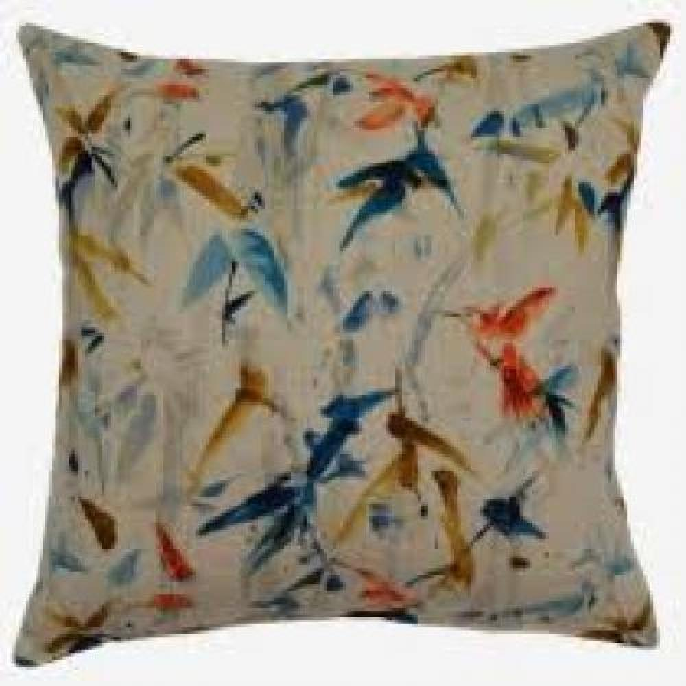 Hummingbird Summer Floor Pillow 26in x 26in