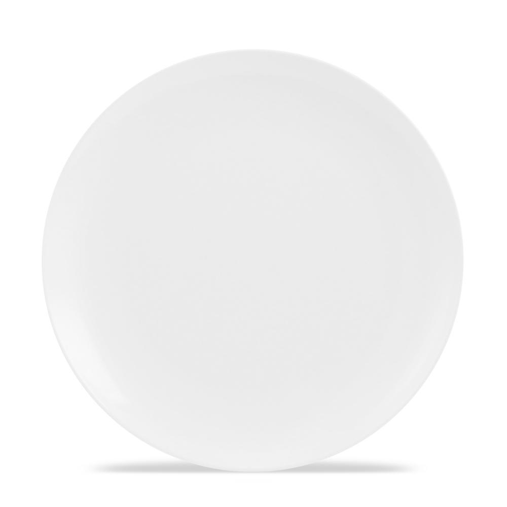 Melamine Plate - Cadence Pure White