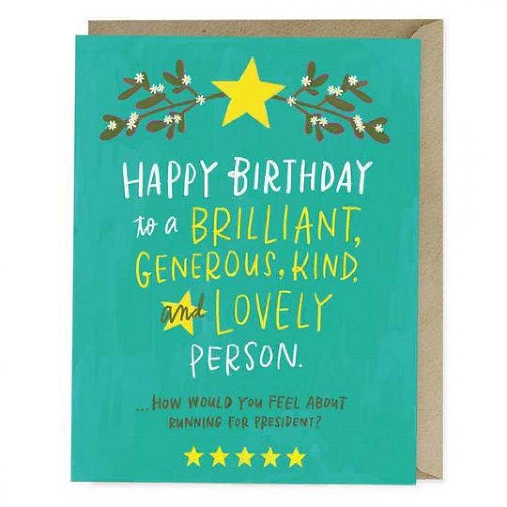 Birthday - Birthday President