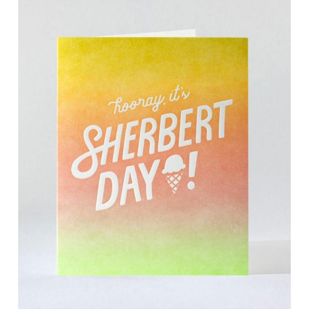 Birthday - Sherbert Day