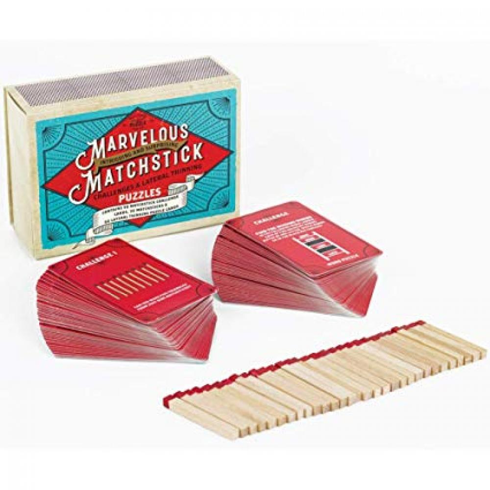 Matchbox Marvelous Matchstick Puzzles