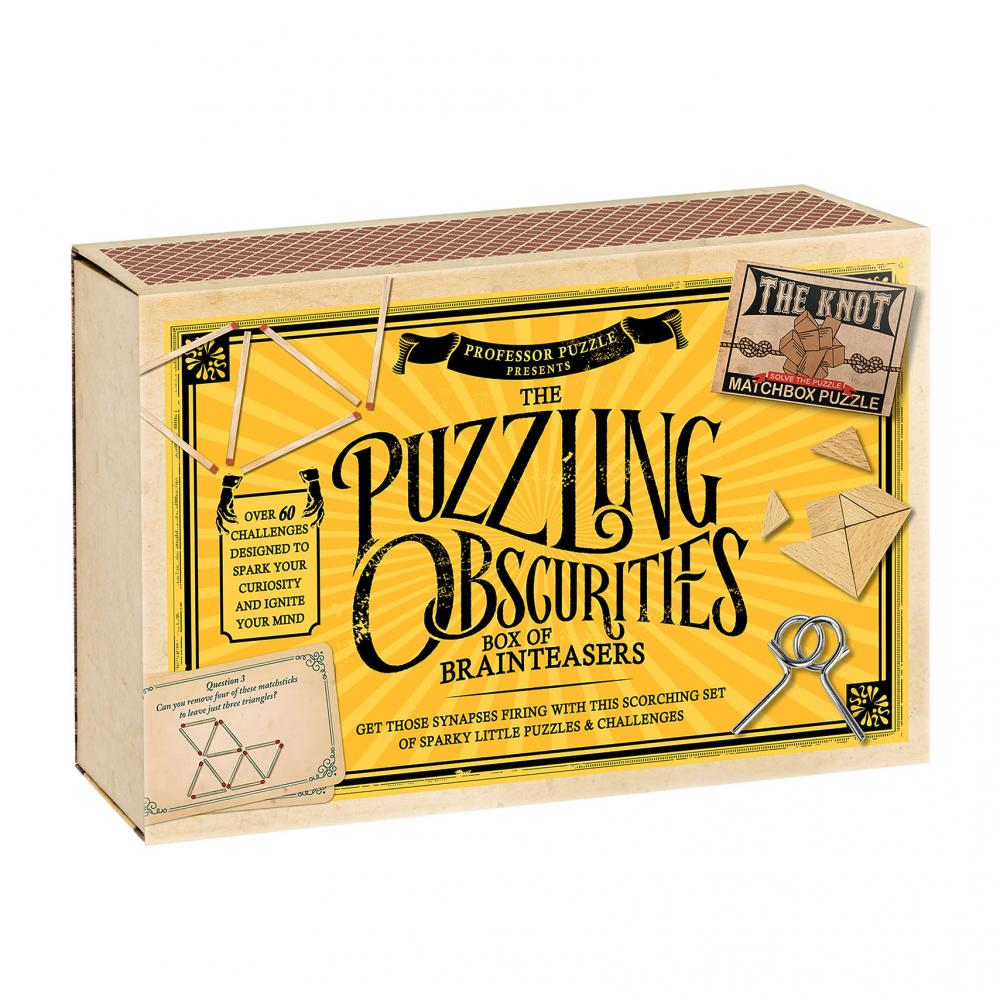 Matchbox Puzzling Obscurities Box of Brainteasers