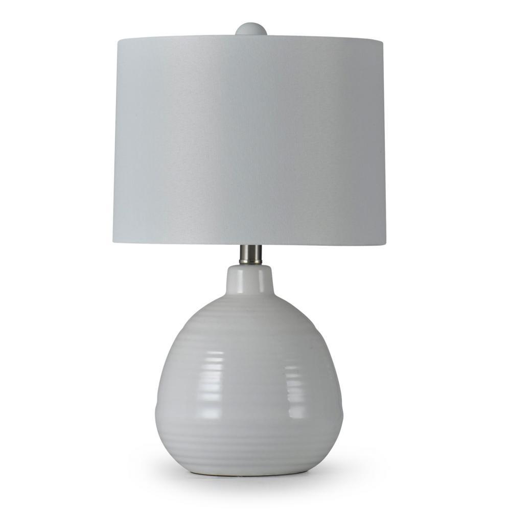Classic Off White Ceramic Table Lamp