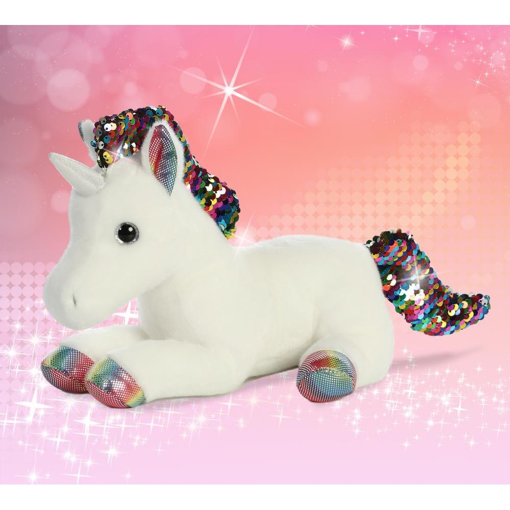 Shimmers Unicorn Rainbow 11in