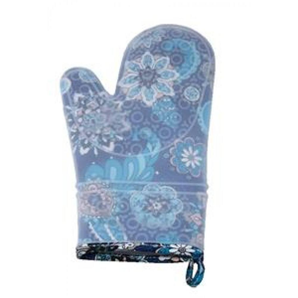 silli mitts silicone oven mitt midnight shadow