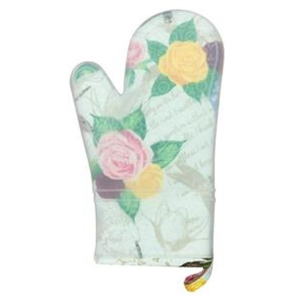 silli mitts silicone oven mitt rose dragonfly
