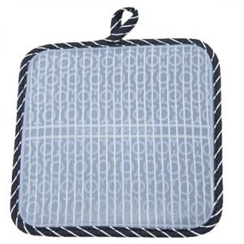 silli hotties pot holder pinstripe