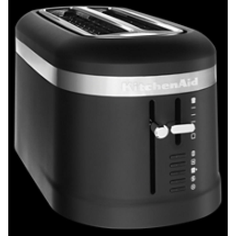 KitchenAid® 4 Slice Long Slot Toaster with High-Lift Lever Black Matte