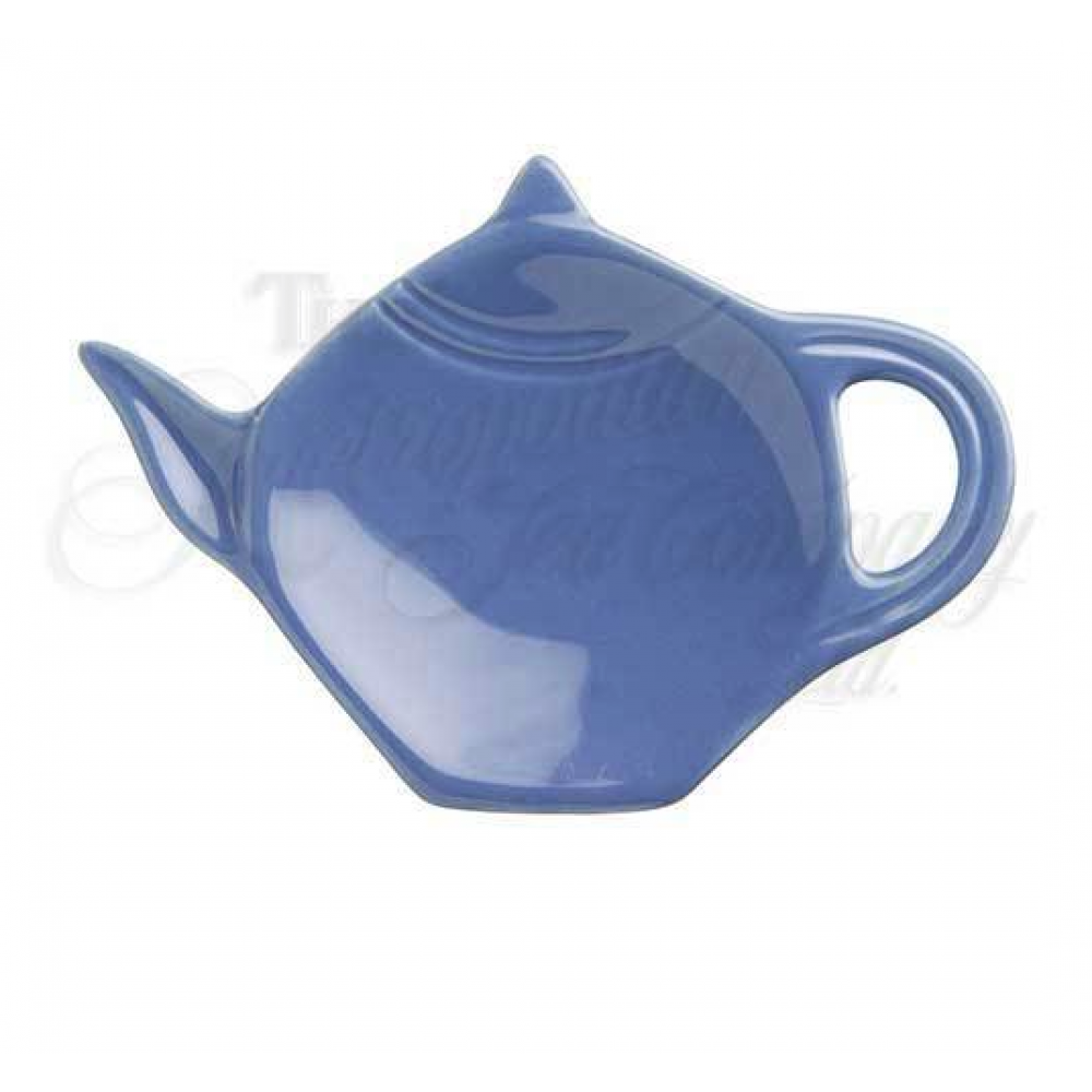 Blue Ceramic Tea Bag Holder