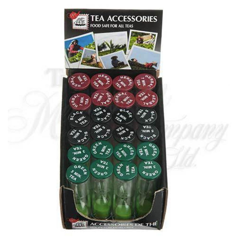 Counter Display Liverpool Tea Timers 24 Assortment