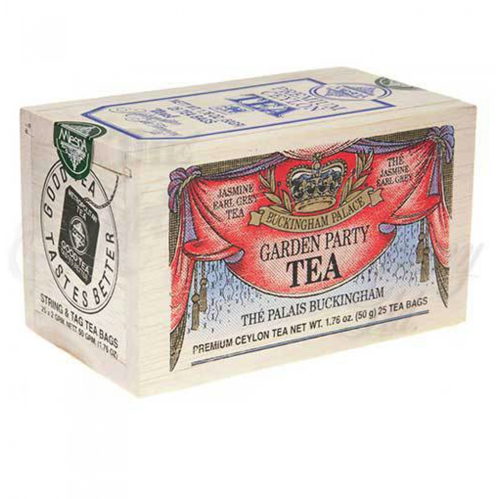 25 Tea Bags Wooden Box Buckingham Palace