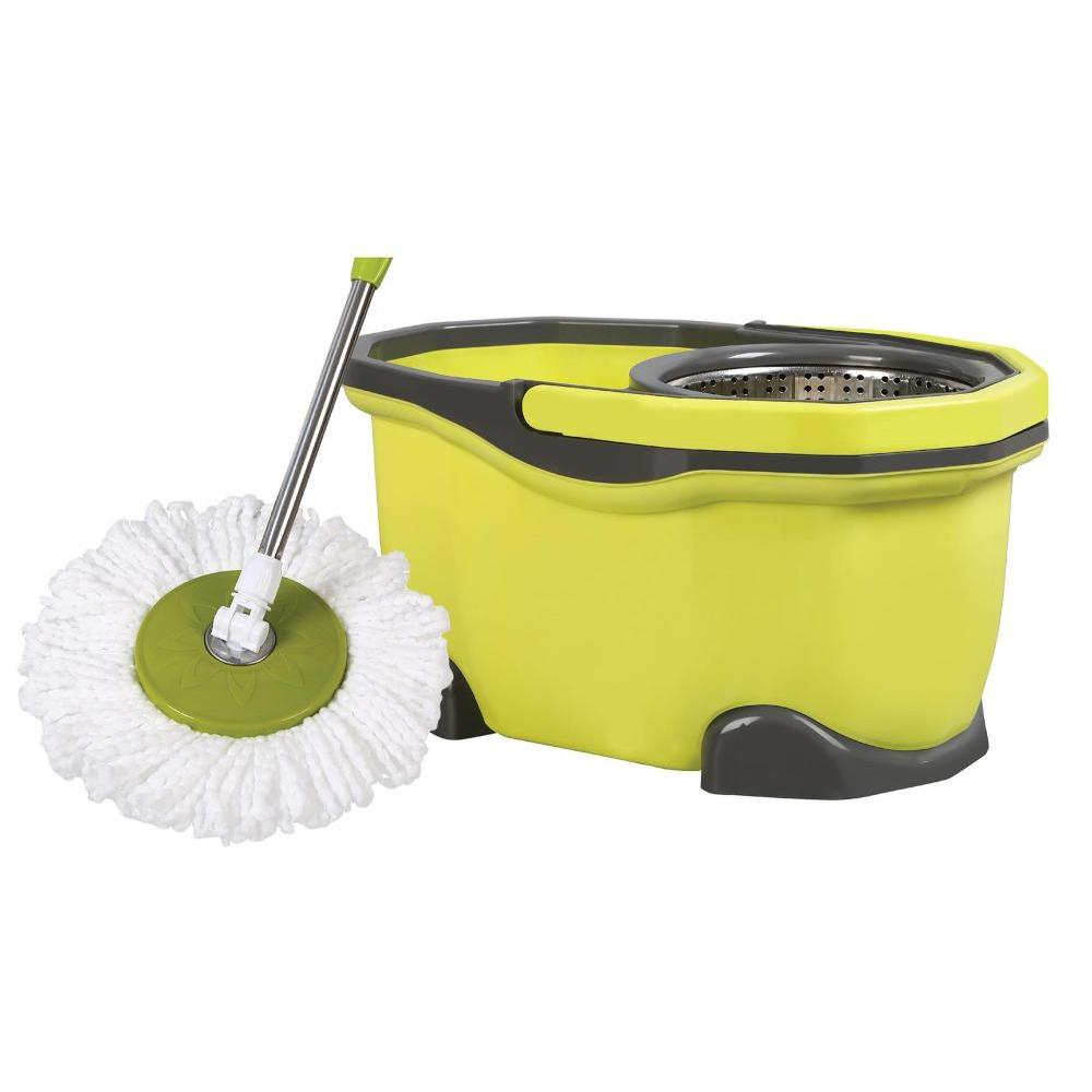 Twirl N Swirl Spin Mop with 2 Refill Head