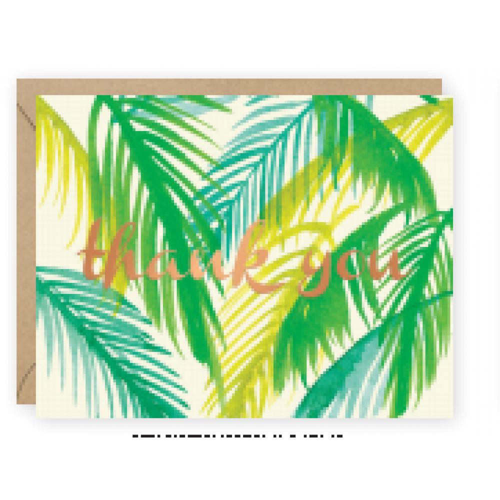 Thank You - Palms Foil