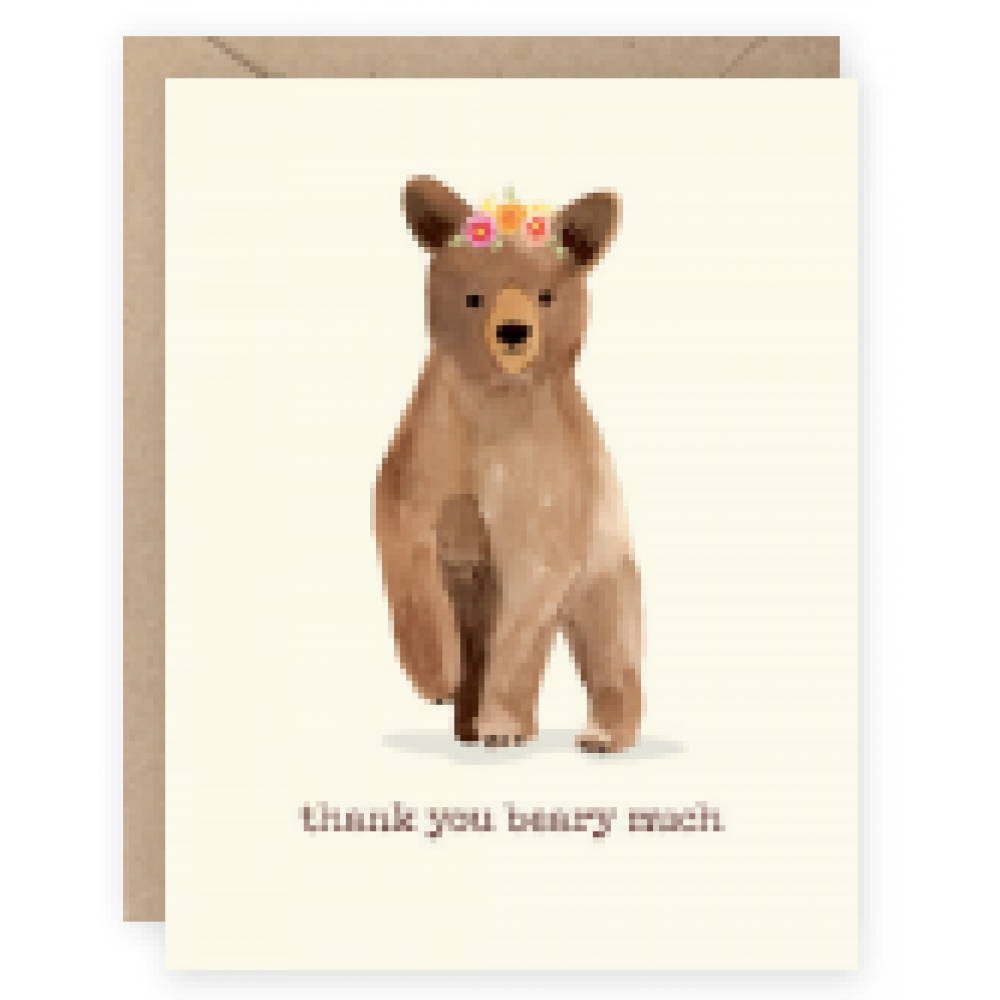 Thank You - Beary Much