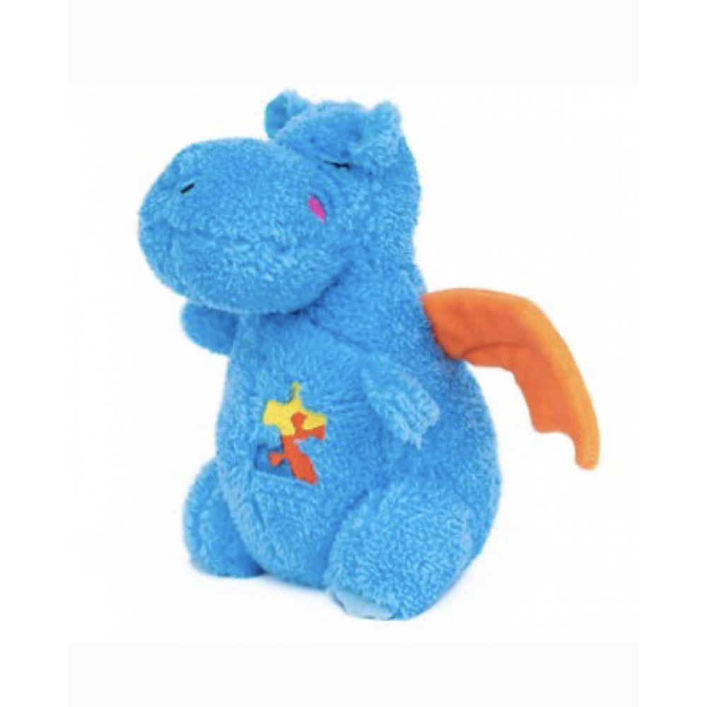 Dog Toy Ziptoy Drake Dragon Cheeky Charms