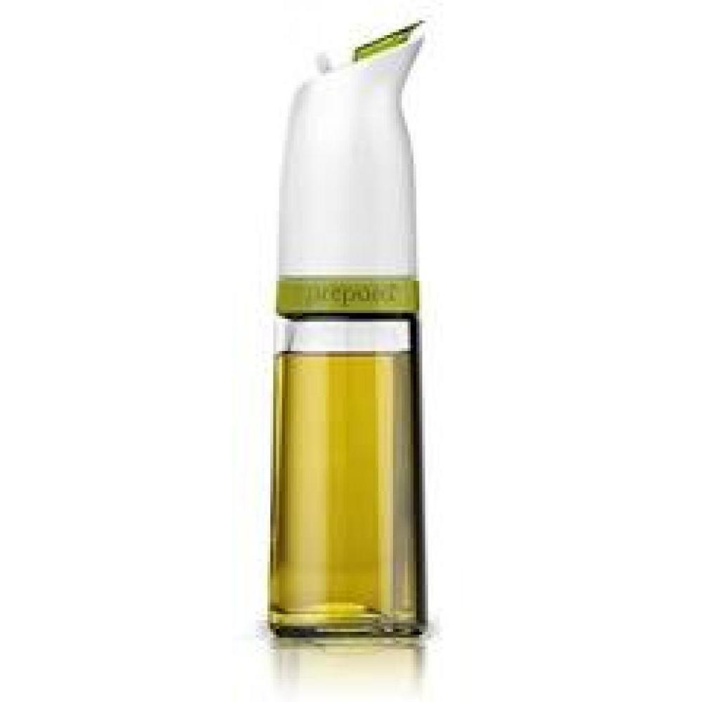 Oil Cruet Flip Top Closure Olive Green
