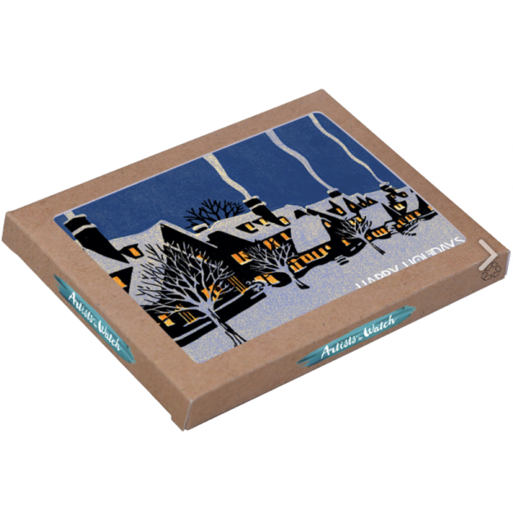 Holiday Boxed Cards- Winter in Montreal