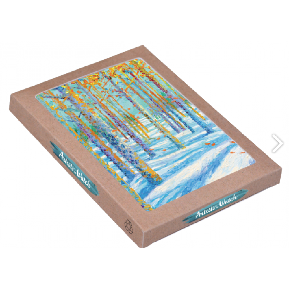 Holiday Boxed Card- Frosted Fall