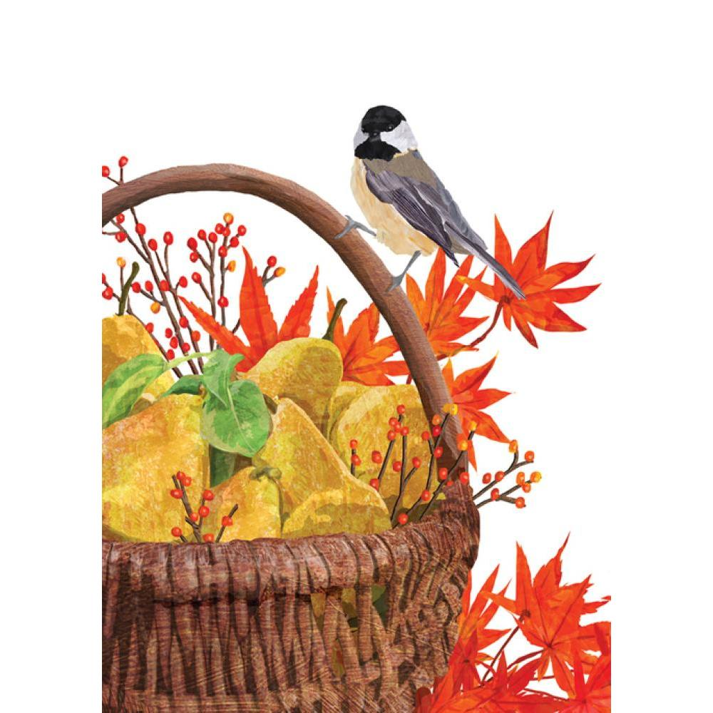 Thanksgiving- Chickadee Basket