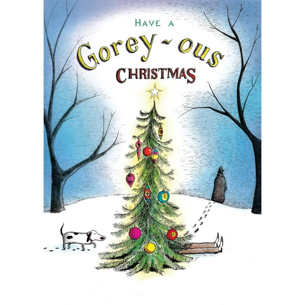 Christmas Card - Goreyous