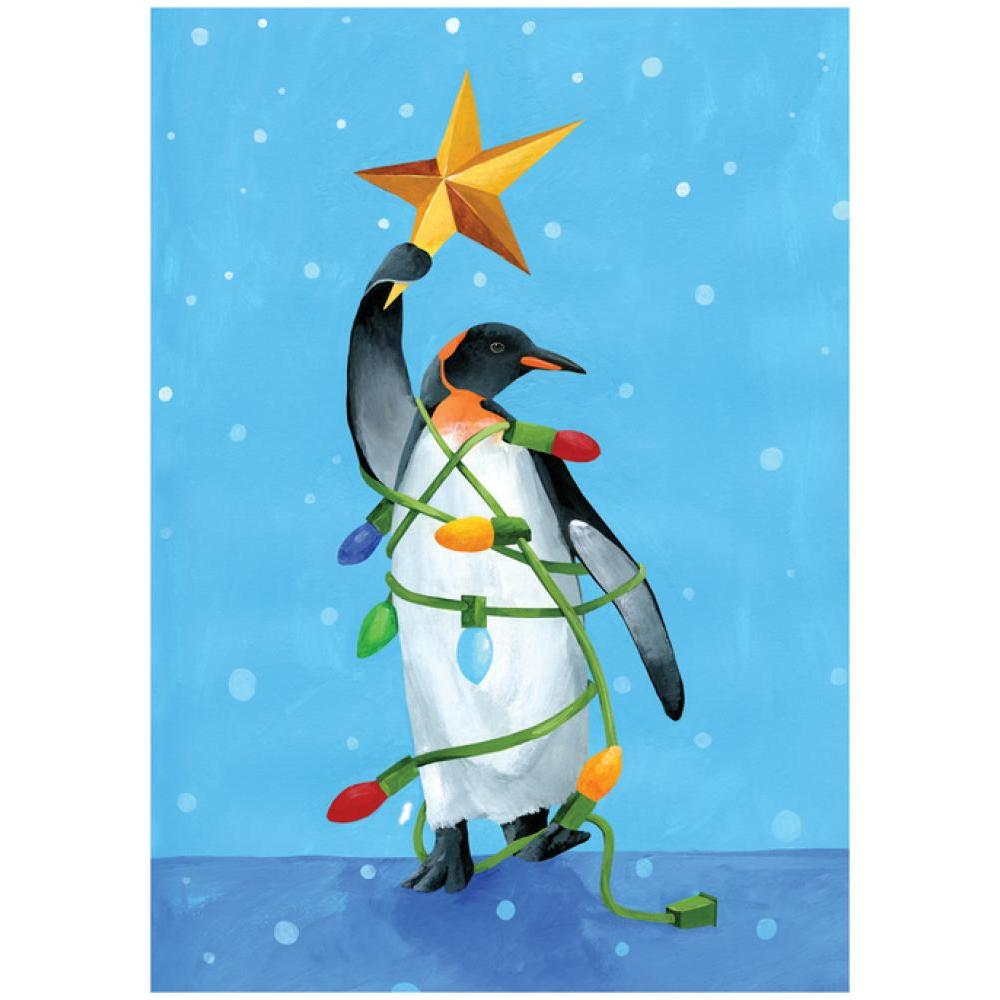 Boxed Holiday Card - Penguin