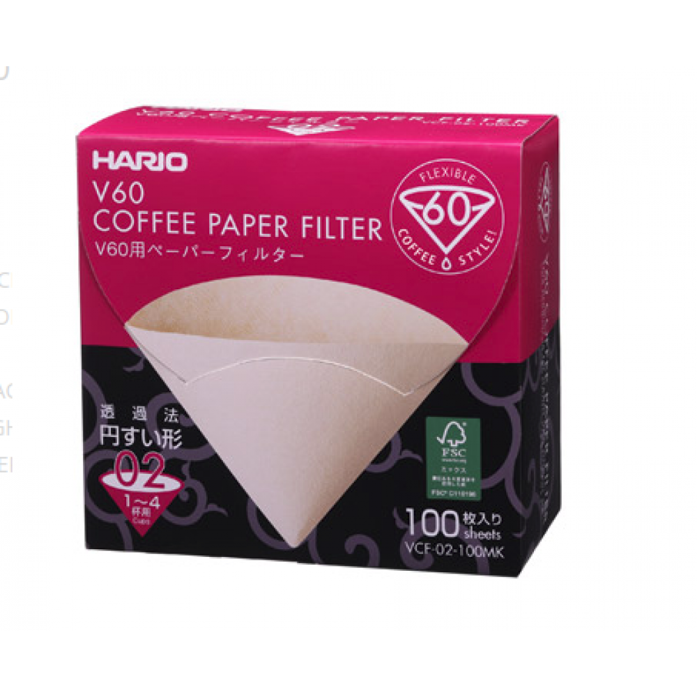 Paper Filter Misarashi Boc for 02 Dripper 100 count