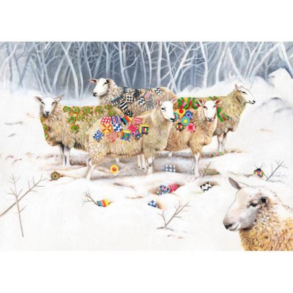 Any Occasion - EB Watts - SHeep with Patchwork
