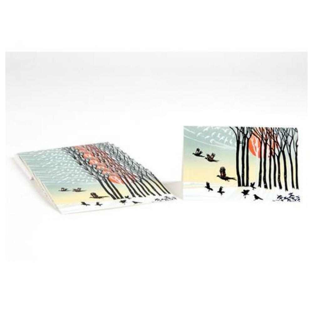 Boxed Card - Set of 8 - Taking Flights
