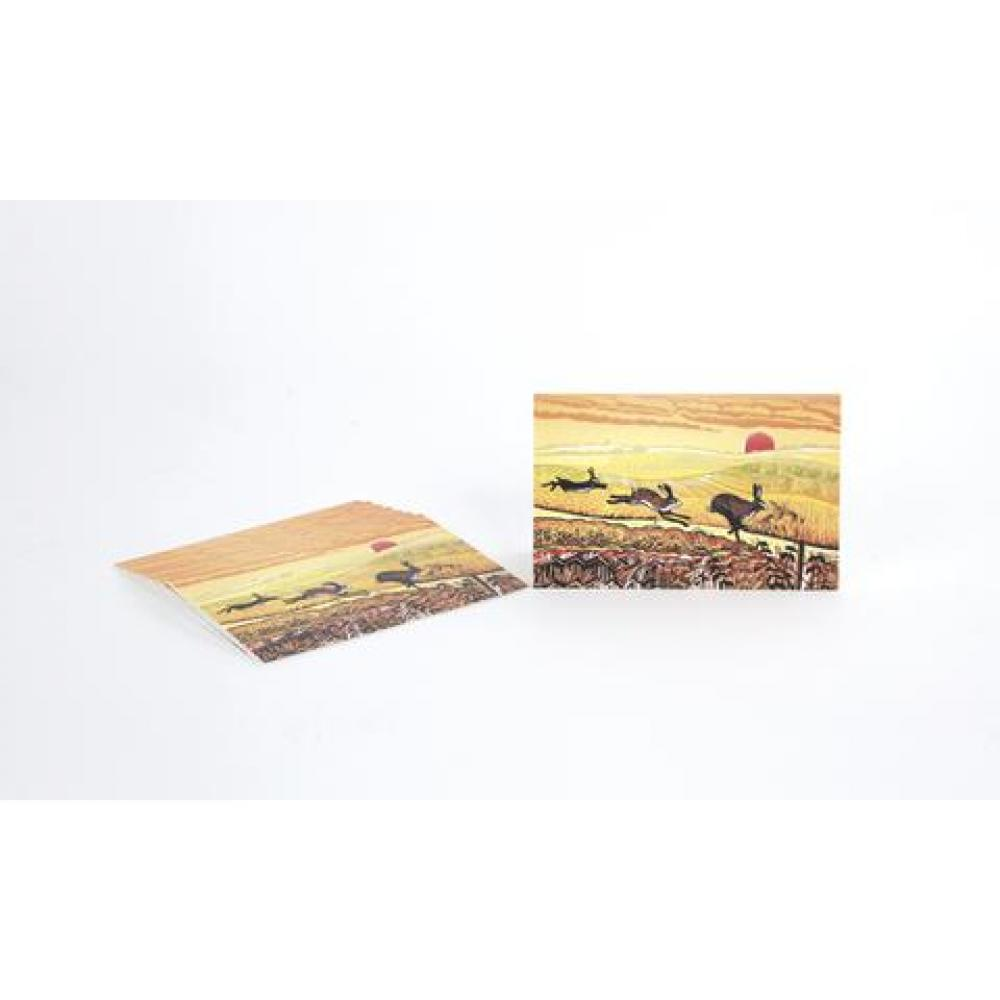 Boxed Card - Set of 8 - Sunset Chase