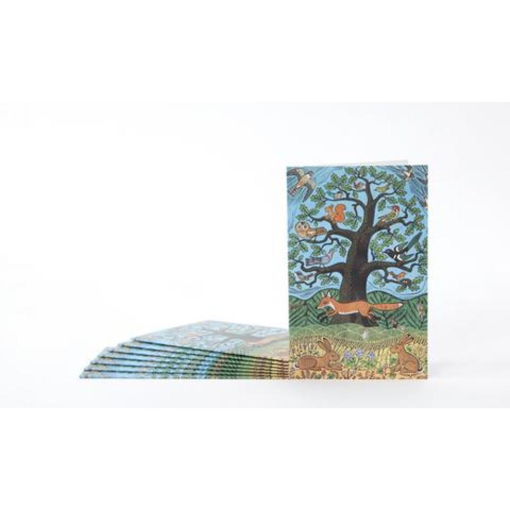 Boxed Card - Set of 8 - In the Forest
