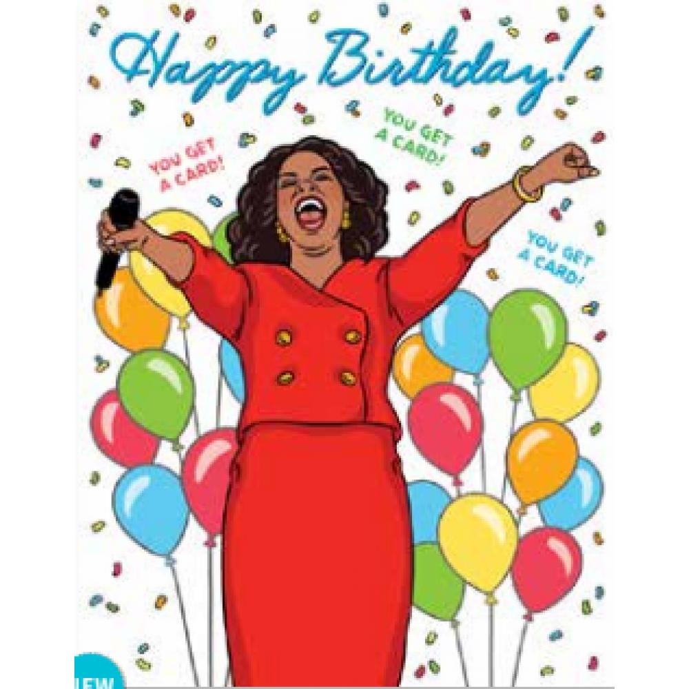 Birthday - Oprah