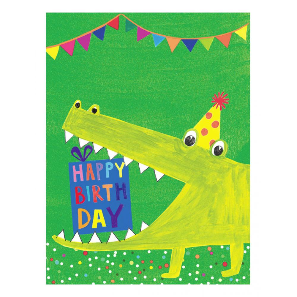 Birthday - Alligator