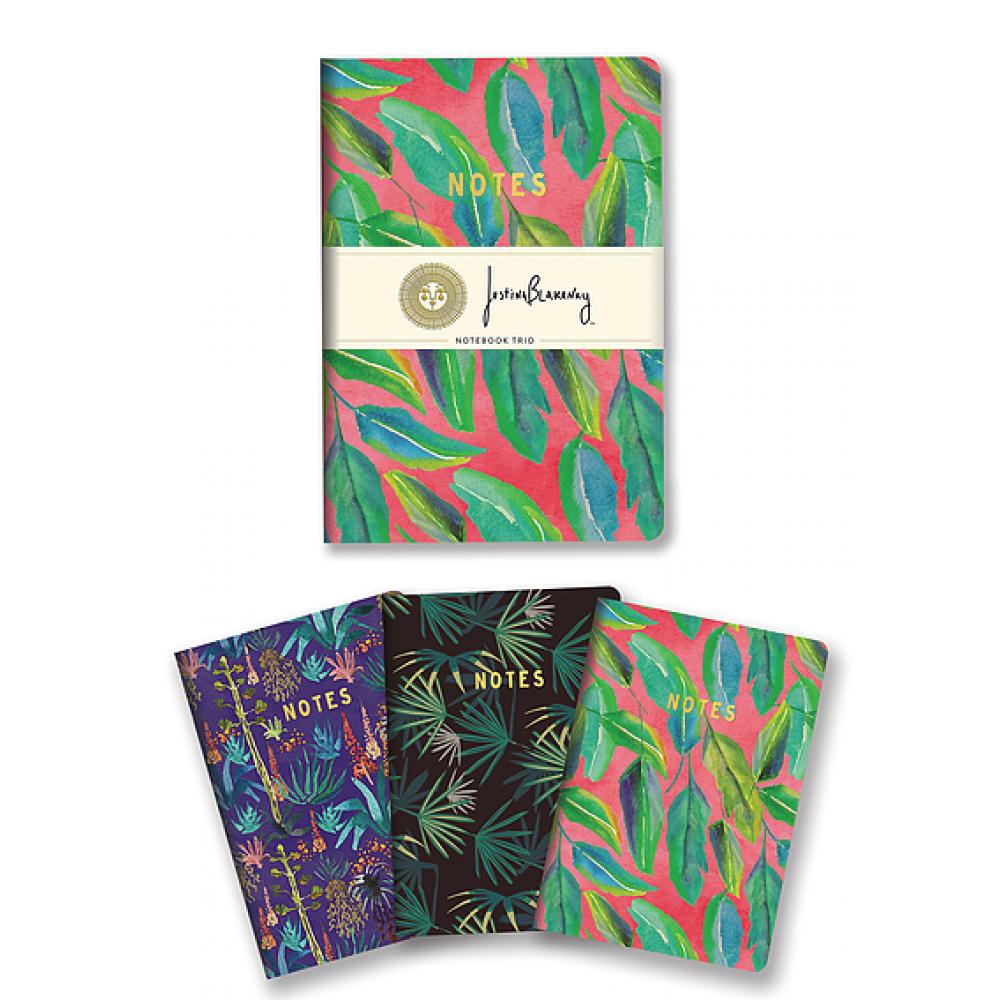 Notebook Trio - Botanical Collection