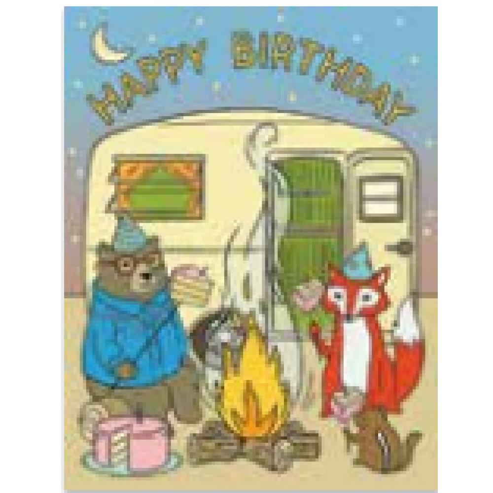 Birthday - Campfire