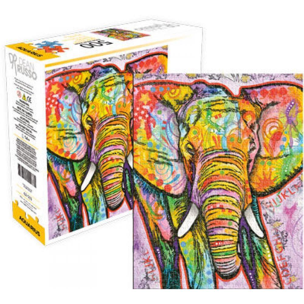Puzzle 500 Piece Dean Russo Elephant