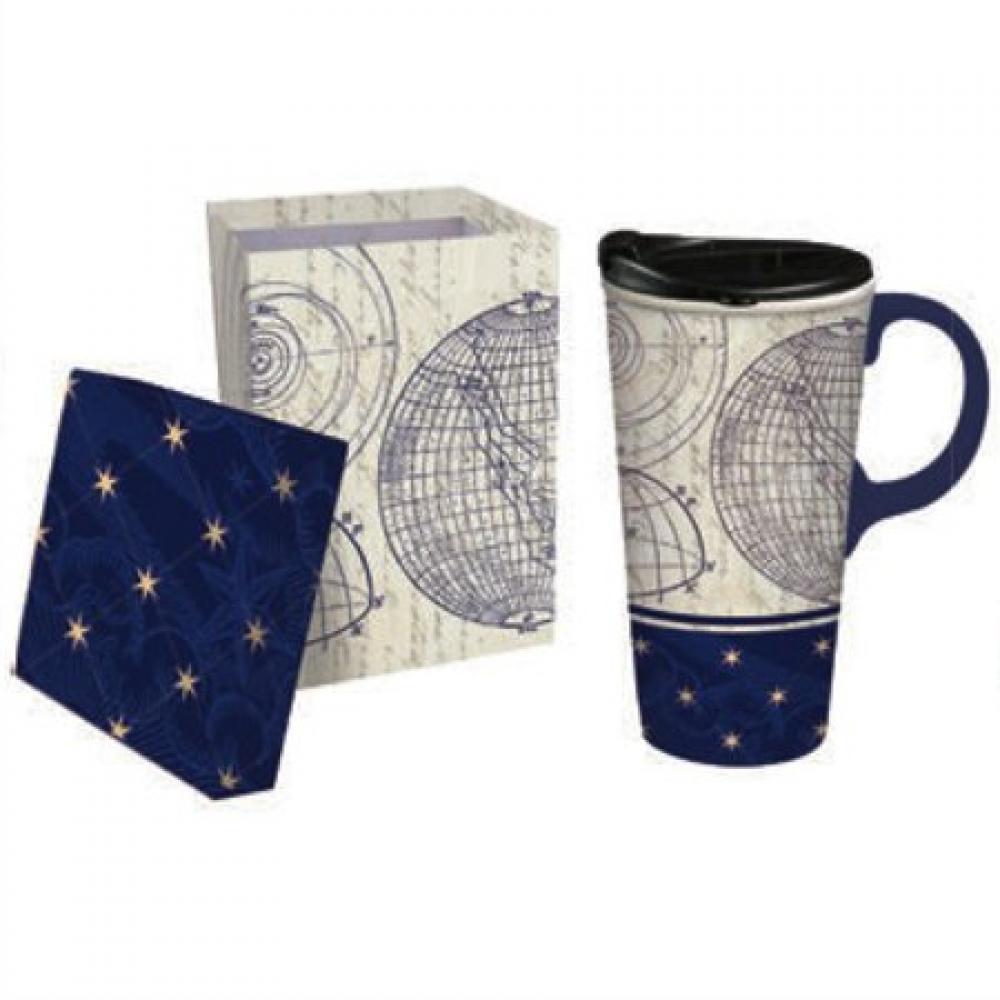 Travel Cup Ceramic 17 oz Starstruck