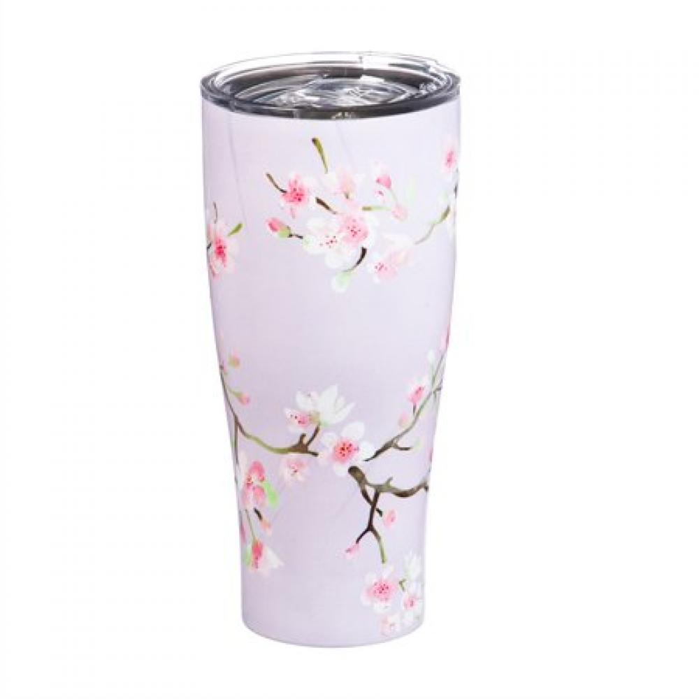 Drinkware - Refresh Cup Stainless Steel Double Wall 17oz Cherry Blossom