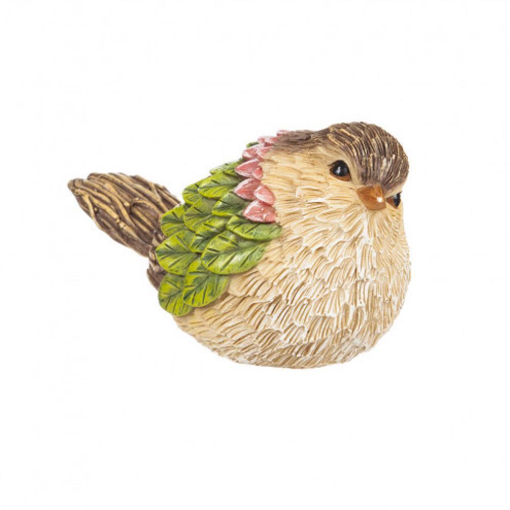 Sit-a-bout Sitting Bird Resin 2 Asst