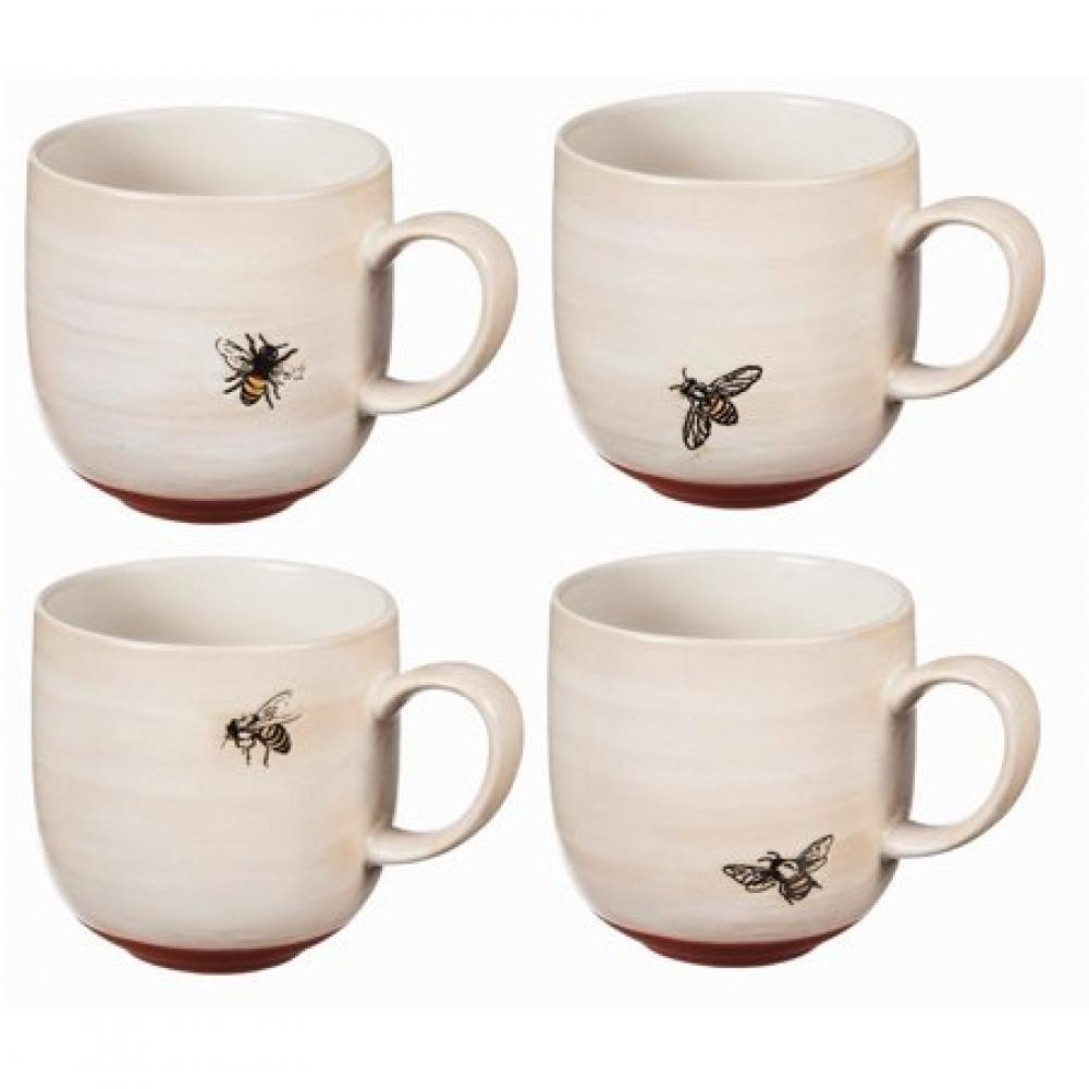 Drinkware - Ceramic Cup 12oz Bumble Bee 4 Asst