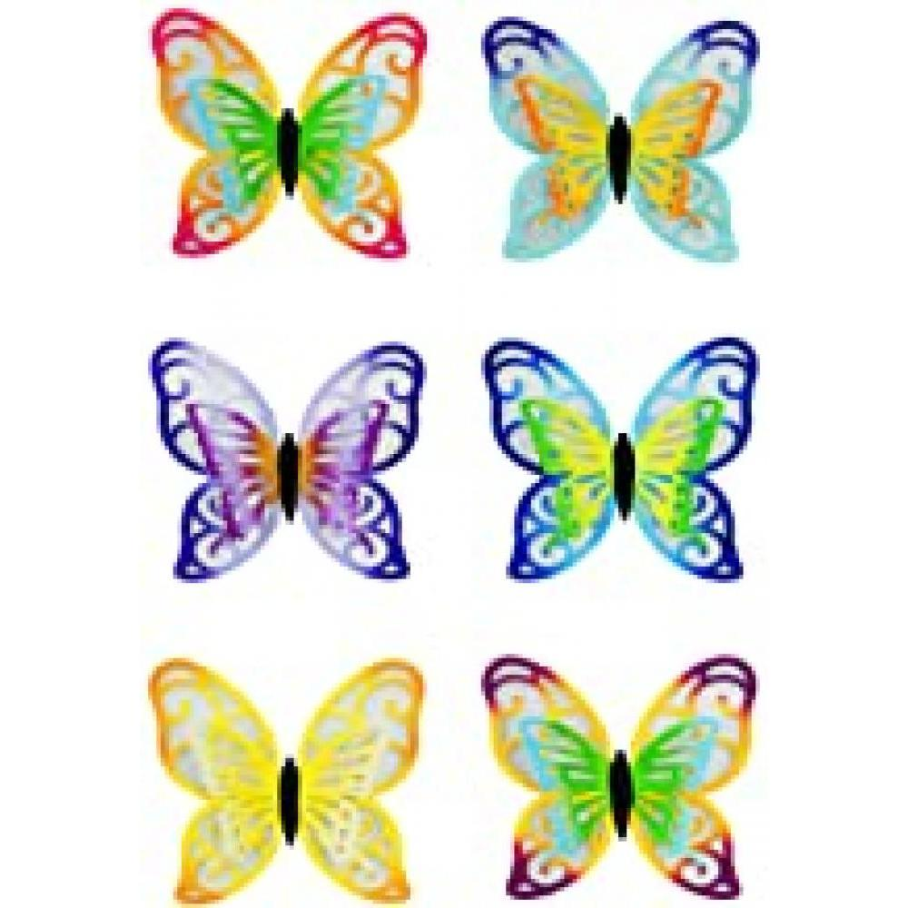 Decorations - Butterfly glow in the Dark Screen Saver 6 Asst (each sold separately)