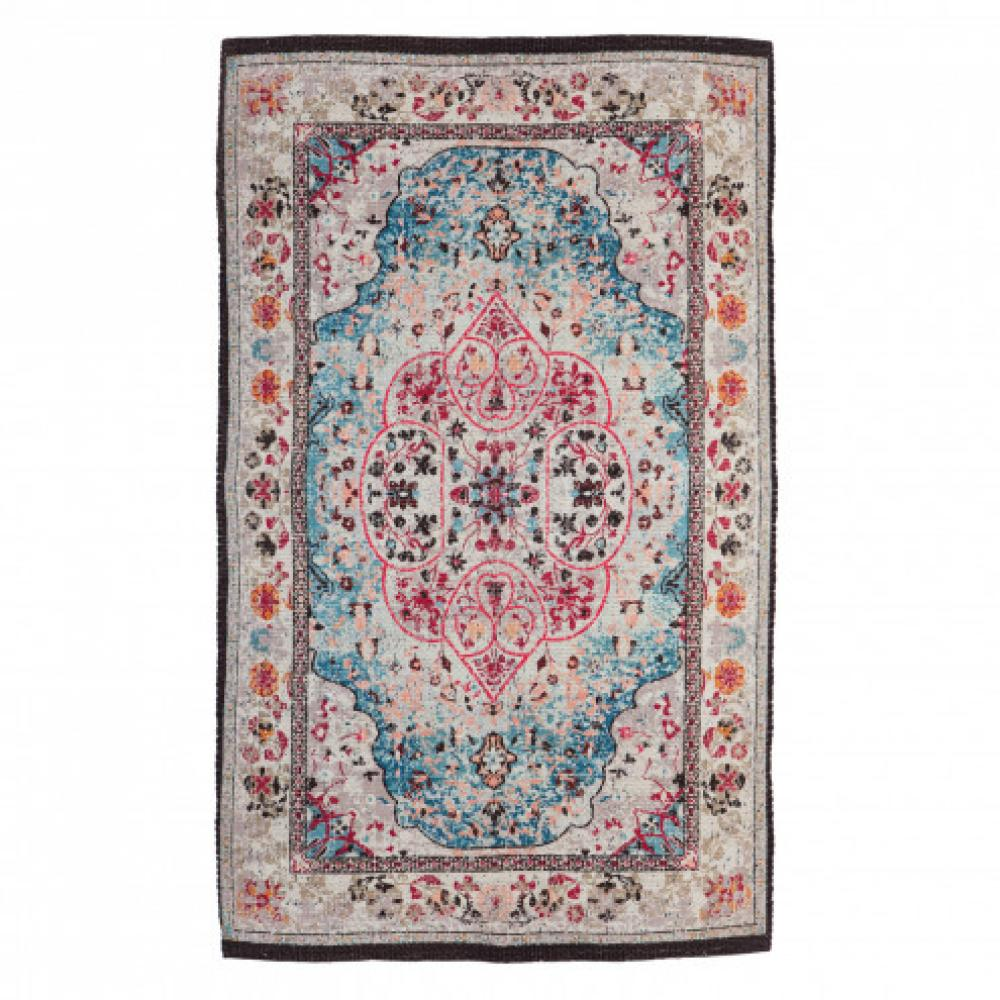 Indoor/Outdoor Rug Cream Multi Colored`