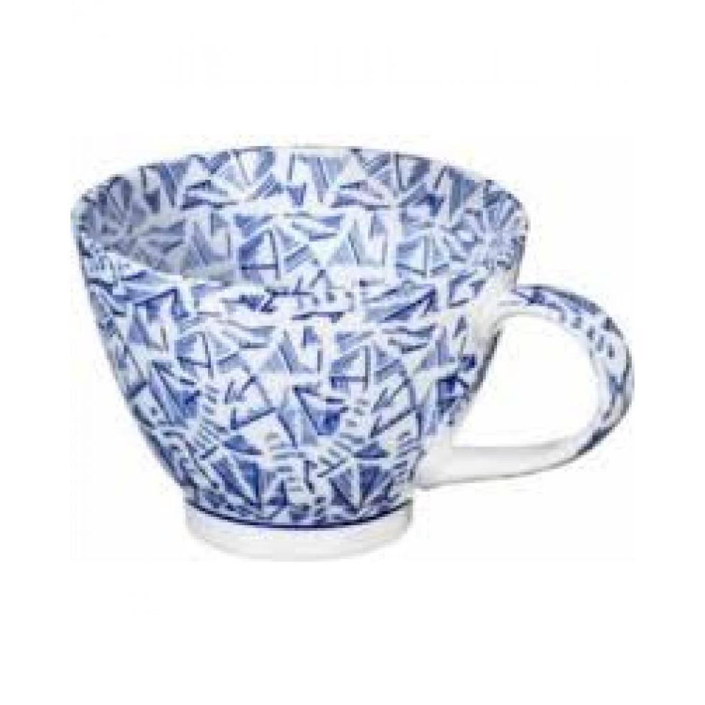 Dinnerware - 15oz Cup Dark Blue Jasmine